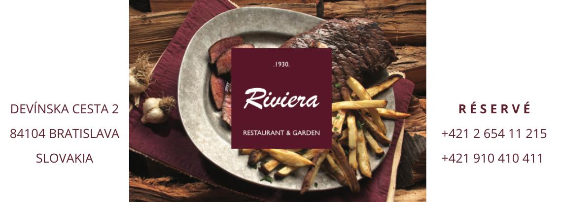 Cover photo RIVIERA restaurant & garden
